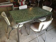 Vintage Retro Kitchen Table & Chairs