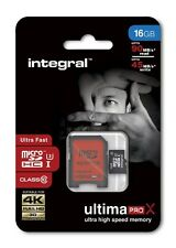 Integral 16GB Micro SD Class 10 UHS-1 Ultima PRO X ( 90 MB/s ) FOR CAMERA GOPRO