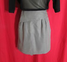Portmans NWTS *REDUCED* Olive  Silk Mini Wrap Style Skirt Size Large RRP $99.95