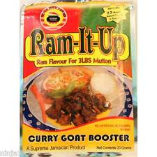 3 x Ram-It-Up Curry Goat Booster