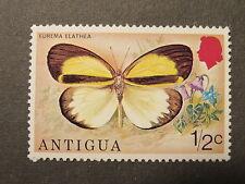 Briefmarke Schmetterling Papillon 1/2 c Antigua postfrisch 1975
