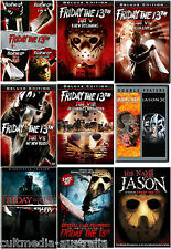 FRIDAY THE 13TH ULTIMATE COMPLETE DELUXE FILMS & DOCUMENTARIES COLLECTION 15 DVD