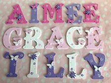 Custom Wooden Letter Children Bedroom Nursery Wall Door Art Decor Present Gift