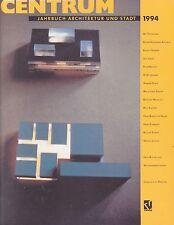 CENTRUM  1994  - Jahrbuch Architektur und Stadt