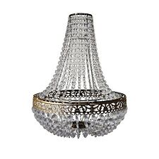 VICTORIA JEWELS EASY FIT CHANDELIER NEW LARGE LIGHT PENDANT SHADE CEILING DECOR