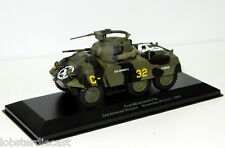 Ford M8 Armored Car 2nd Armored Division Avranches 1944 WW2 1/43 scale model
