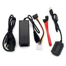 """2.5""""3.5"""" SATA IDE to USB Bridge Adapter Cable For Hard Drive HDD Rom Disk PK"""