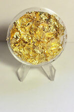 Large 45 mm Capsule full of Gold Leaf/Flake (Awesome Investment)