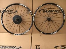 "New Mavic Crossride Disc CR 26"" MTB 6-bolts Mountain Bike F&R Wheels Wheelset"