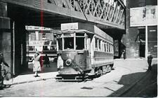 Gateshead Tram car No.12, Mulgrave Terrace 1948 repro photo postcard