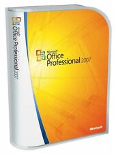 Microsoft OFFICE 2007 Professional 1 PC Vollversion Deutsch