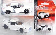 Majorette 212053052 Nissan GT-R weiß Sammlerflyer 1:61 PREMIUM CARS