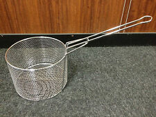 chip deep frying basket Round DIA 300mm chrome plated