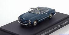 1:43 Minichamps VW Karmann Ghia Convertible Type 14 1957 blue