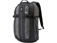 Puma Backpack Rucksack School Bag Black Travel Sports Leisure Shoulder