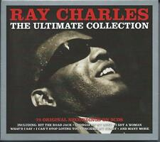 Ray Charles - The Ultimate Collection - Greatest Hits (3CD 2013) NEW/SEALED
