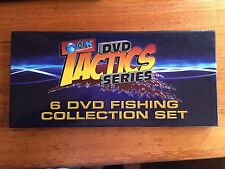 AFN FISHING & OUTDOORS TACTICS SERIES. 6 Dvd Fishing Collection Set. Brand New
