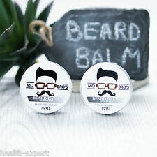 Mo Bro's Twin Pack Unscented Beard Conditioner Balm 15ml - Beard Tame