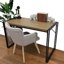 Dana Desk Metal & Timber Industrial Look Office Study NEW