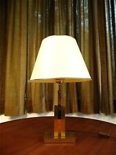 French BRASS TABLE LAMP Vintage Tischlampe Mid Century Lampe MID CENTURY | 1960s