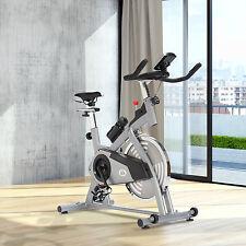 HOMCOM 13kg Spinning Flywheel Exercise Bike Aerobic Training Cycling Cardio LCD