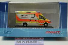 Rietze (68626) - Ambulanz Mobile Tigis Ergo DEHiG Rettungsdienst Berlin, 1:87 -