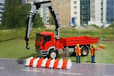 Siku 3534 - Mercedes Atego with Crane Diecast Metal Construction- Scale 1:50