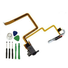 For iPod Classic 7th 160GB Black Audio Headphone Jack Flex Cable Hold Switch