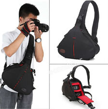 Waterproof DSLR SLR Camera & Lens & Accessories Shoulder Sling Case Bag Handbag