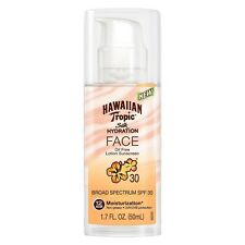 Hawaiian Tropic Silk Hydration Face Sunscreen, SPF 30, 1.7 oz (2 Pack)