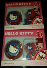 2 HELLO KITTY Cupcake Kits