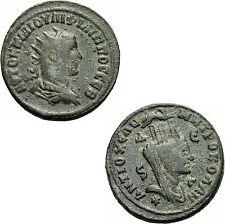 Philipp I. Arabs Antiochia Syrien Bronze Tyche Mauerkrone Widder McAlee 990