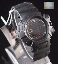 ( Gift ) + G-9000MS-1 CASIO G-SHOCK MUDMAN Sport Black Watch G9000 100% Original