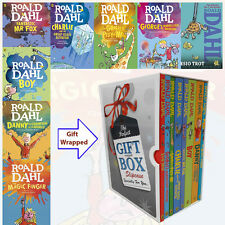 Roald Dahl Collection 8 Books Set Gift Wrapped Slipcase NEW George's Marvellous