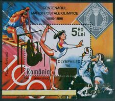 Rumänien 2006 Mi. Block 387 ** Gymnastik (mit HFDR-Aufdruck)