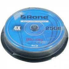 50 x Aone Blu Ray Blank Discs Full Face White Printable 25GB BD-R *48hr Courier*