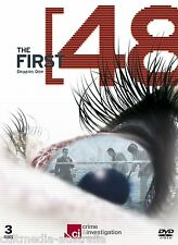 THE FIRST 48 THE CI NETWORK DOCUMENTARIES COMPLETE SEASON 1 NEW 3 DVD BOXSET R4