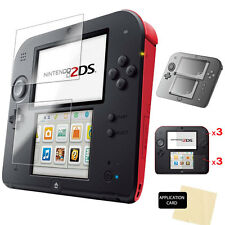 6 x Clear LCD Screen Protector Guards with Cloth for NINTENDO 2DS Console