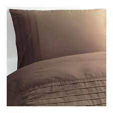New Ikea Alvine Stra Double Duvet / Quilt Cover & Pillowcases 201.726.27 - Brown