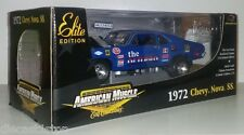 """1:18 Scale ERTL American Muscle 1972 Chevy Nova SS """"The Old Pro"""" Drag Car"""