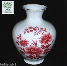 Royal KPM ~  Vase / Blumenvase 19 cm ~ Blumendekor