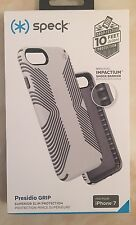 Genuine Speck - Grip iPhone 7 Tough Case Cover - White Drop Tested