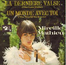 """7"""" Mathieu, Mireille - La Derniere Valse ,VG++,Barclay  M 25001  von 1967"""