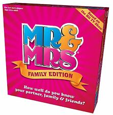Mr and Mrs Family Edition Box Game NEW FREE P&P