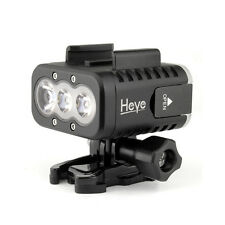 50m Waterproof Underwater Diving Fill Light LED Lamp Mount for GoPro Hero 4 3+ 3