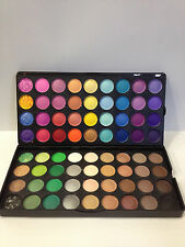NEW 72 COLOUR MATTE/SHIMMER VIBRANT COLOURFUL NEUTRAL EYESHADOW PALETTE