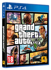 GRAND THEFT AUTO V (GTA V) PS4 GAME BRAND NEW SEALED OFFICIAL PAL