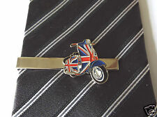 Stylish Union Jack GB Lambretta Scooter Tie Pin