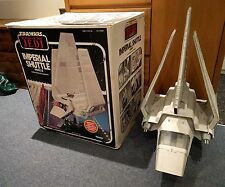 VINTAGE STAR WARS IMPERIAL SHUTTLE VEHICLE KENNER 1984 BOXED COMPLETE ROTJ