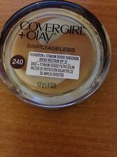 COVERGIRL & OLAY SIMPLYAGELESS FOUNDATION (240 NATURAL BEIGE) BN